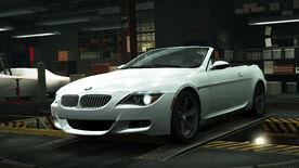 NFSW BMW M6 Convertible White