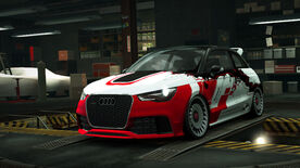 NFSW Audi A1 clubsport quattro Speed