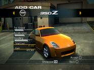NFSUC PS2 Nissan 350Z