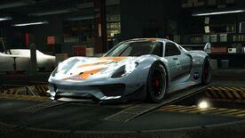 NFSW Porsche Concept 918 RSR Light Blue