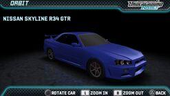 NFSUR Nissan Skyline GT-R V-Spec R34