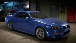 NFS2015 Nissan Skyline GT-R VSpec R34 1999 Garage