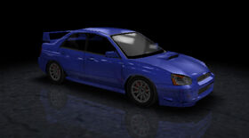 NFSUR PSP SubaruWRXSTi