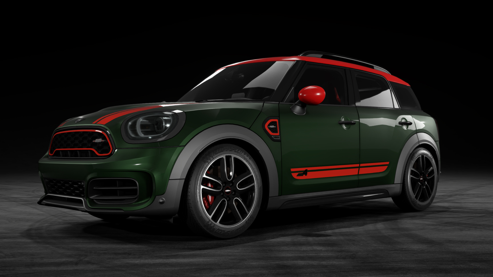 Mini John Cooper Works Countryman (F60)
