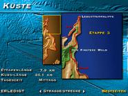 Küste, Etappe 3