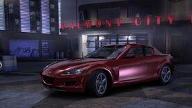 NFSC Mazda RX8 Stock