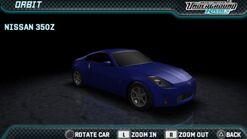 NFSUR Nissan 350Z