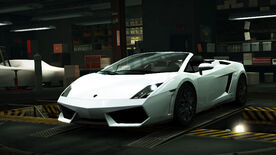 NFSW Lamborghini Gallardo LP560-4 Spyder White