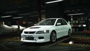 NFSW Mitsubishi LancerEvolutionXIMREdition White