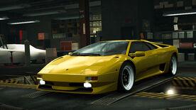 NFSW Lamborghini Diablo SV Yellow
