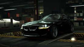 NFSW BMW Z4 M Coupé Black