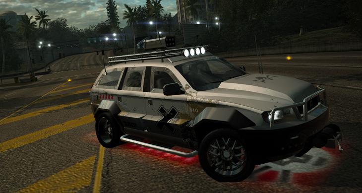 Battlefield Heroes SUV
