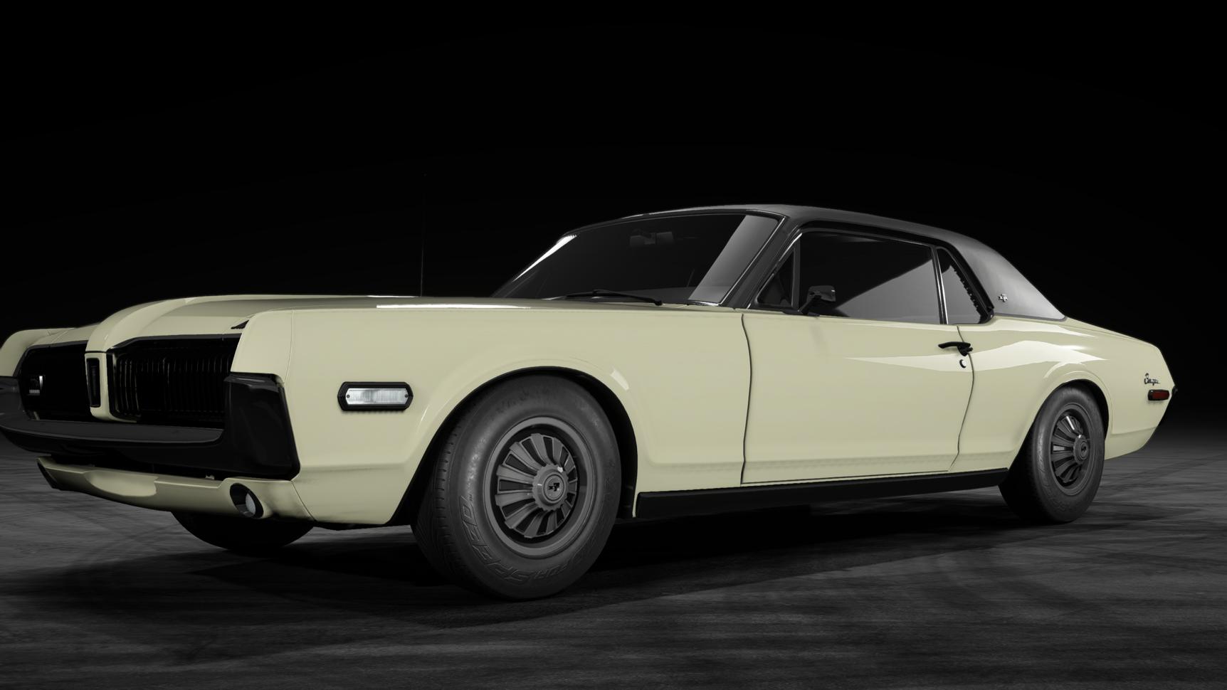 Mercury Cougar XR-7 GT (1968)