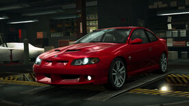 NFSW Vauxhall Monaro VXR Red