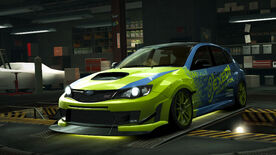 NFSW Subaru Impreza WRX STI hatchback All Terrain