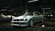 NFSW BMW M3GTRE46 Silver