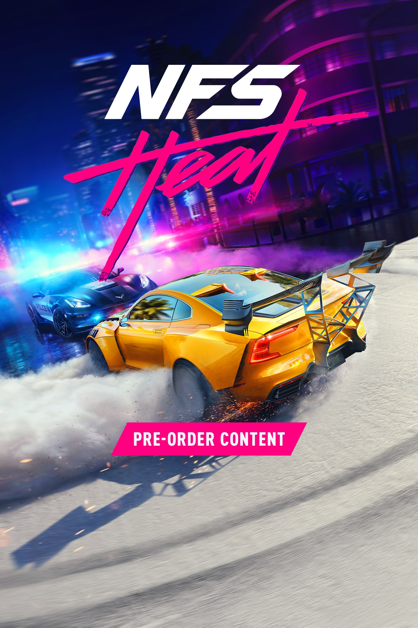 Need for Speed: Heat/Pre-Order Pack