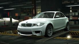 NFSW BMW 1 Series M Coupé White