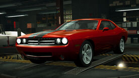 NFSW Dodge Challenger Concept Orange