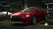 NFSW Mitsubishi Lancer Evolution X Red
