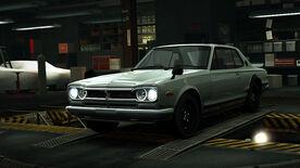 NFSW Nissan Skyline 2000GT-R C10 Grey