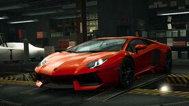 NFSW Lamborghini Aventador LP700-4 Orange