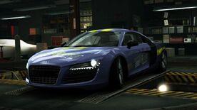 AudiR8RoyalPurpleWorld
