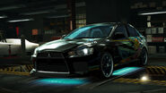 NFSW Mitsubishi Lancer Evolution X Shatter