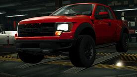 NFSW Ford F-150 SVT Raptor Red