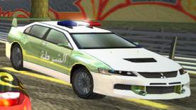 NFSNitroMitsuLancerEvo DubaiPolice