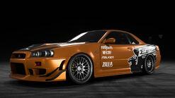 NFSPB Nissan Skyline GT-R VSpec R34 Eddie
