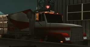 NFSUG2 cement truck parked