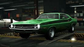 NFSW Dodge Challenger RT Green