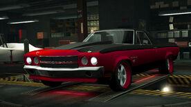 NFSW Chevrolet El Camino SS Red Juggernaut