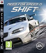 SHIFT Cover PS3