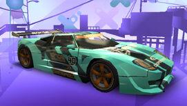 NFSPS PSP FordGT RaceVersion