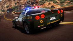 HP2010 Chevrolet Corvette C6 Z06 Cop