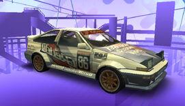 NFSPS PSP ToyotaCorollaGTSAE86 RaceVersion