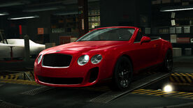 NFSW Bentley Continental Supersports Convertible Red