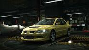 NFSW Mitsubishi LancerEvolutionVIII Yellow