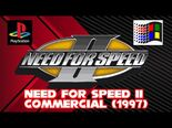 Need For Speed II (1997) Commercial (PlayStation and Windows 95)
