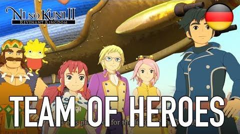Ni No Kuni II Revenant Kingdom - Team of Heroes