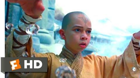The Last Airbender (2010) - Aang vs