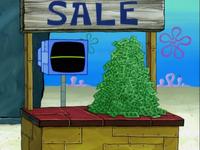 SpongeBob SquarePants Karen the Computer with Money