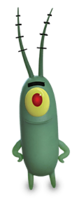 Plankton Out of Water Render 01
