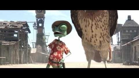 Extended clip from 'Rango' starring Johnny Depp - One last chance to reconsider