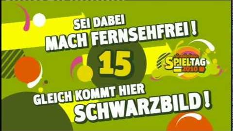 Nickelodeon Spieltag Spezial 2010 Der Countdown