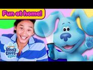 Josh & Blue's Playdate - 7 Pajama Party! - Blue's Clues & You!