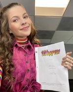 Warped script