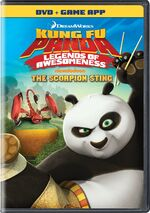 Kung Fu Panda - Legends Of Awesomeness - The Scorpion Sting 2013 DVD Cover.jpg